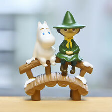 Moomin Valley Muumi Snufkin DIY Action Figure Collection Garden Yard Decor