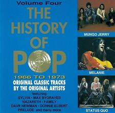 THE HISTORY OF POP - 1966 TO 1973 / CD (CASTLE MBSCD 425/4) - TOP-ZUSTAND