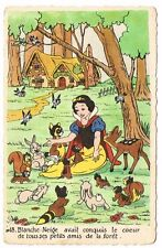 CPA BLANCHE NEIGE ET LES 7 NAINS N° 18