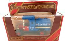 MATCHBOX MODELS OF YESTERYEAR Y-3 1912 MODEL T FORD TANKER. MOBILOIL L/EDITION