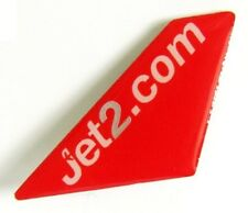 13184 JET2.COM JET 2 BRITISH AIRLINE AIRWAYS AVIATION PLANE TAIL PIN BADGE