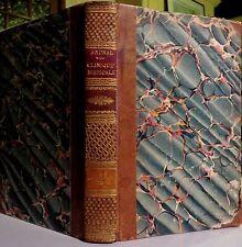 ANDRAL. Clinique médicale. Tome 4. Maladies de l'abdomen (2e partie). 1838.
