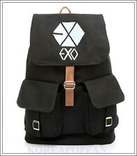 EXO chanyeol baekhyun KPOP from planet CANVAS SCHOOL BAG BACKPACK NEW EXODUS