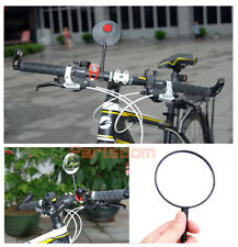 Cycling Wide Angle Bicycle Bike Sports Handlebar Flexible Rearview Glass Mirror