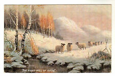 In The Scottish Highlands - Tuck Oilette Postcard 1906