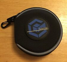 Nintendo GameCube 12 Game Carry Case Disc Holder Black Travel Bag Game Case