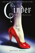 The Lunar Chronicles: Cinder 1 by Marissa Meyer (2012, Hardcover) No Dust Jacket