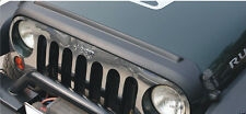 2007-16 Jeep Black Druable ABS Hood Protector Wrangler Unlimited JK&TJ 2&4 Doors