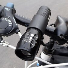 Bicycle Light 1200 Lumens CREE Q5 LED Bike Front Waterproof Lamp + Holder Clip