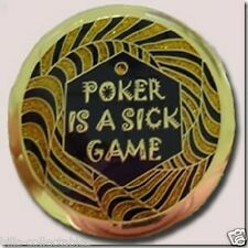 POKER IS A SICK GAME Spinner Poker Card Guard Cover Protector