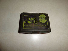MILITARY FACE PAINTING KIT CAMO COMPAC USED BUT STILL USABLE