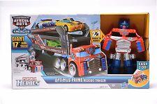 Transformers Playskool Heroes Rescue Bots OPTIMUS PRIME RESCUE TRAILER Hot Sale