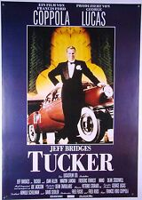 Tucker TUCKER: THE MAN AND HIS DREAM Jeff Bridges - Filmplakat DIN A1 (gerollt)