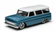 86059 1:43 GreenLight - 1966 Chevrolet Suburban (Blue)
