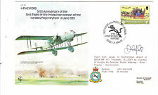 1983.  SIGNED HANDLEY PAGE   COMMEMORATIVE COVER