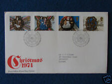First Day Cover - Christmas 1974 - Double Stamped - 27/11/74 Edinburgh