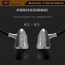 High-End Kopfhörer KZ-R3 Professional Metal Version In-Ear in PU Hardcase