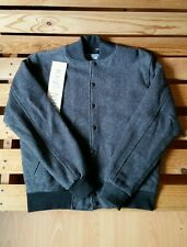 American Apparel Wool Club Jacket Gray XS / Small Bomber Used Perfect Condition