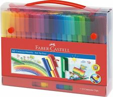 Faber-Castell 155560 Felt-Tip Pen Connector in Case 60 Pieces