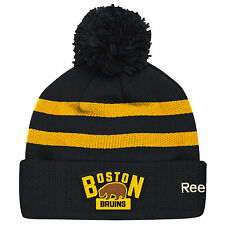 Boston Bruins Reebok 2016 NHL Winter Classic Player Pom Knit Beanie Winter Hat
