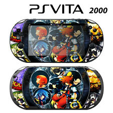 Vinyl Decal Skin Sticker for Sony PS Vita Slim 2000 Kingdom Hearts 4