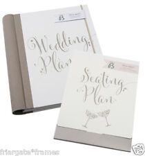 LUXURY WEDDING PLANNER BOOK & SEATING PLAN - diary/organiser/journal-ENGAGEMENT