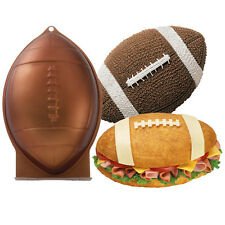 Wilton First N Ten Football Cake Pan  2105-6504  NEW 3D