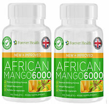 African Mango LEPTIN FAT BURNER to LOSE WEIGHT FAST Diet Pills Slimming Tablets