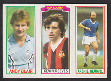 Topps - Footballers (Blue Back) 1981 - # 137 140 153 Coventry Man City B'ham