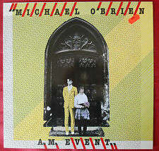 LP Michael O`BRIEN A.M. EVENT Zilch 2374193 West Germany 1982