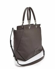 new Marc Jacobs Too Hot to Handle Bentley Faded Aluminum Leather Tote NWT$498