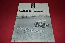 Case Tractor Spring & Spike Tooth Harrows For 1959 Dealer's Brochure YABE4