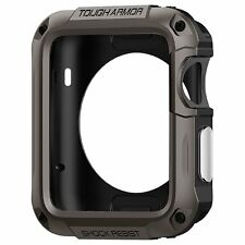 Case Screen Protector For Apple Watch 42mm Rugged Sport iWatch Accessories Metal