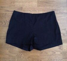 PRADA Black Cotton Mini Shorts--SZ 46/US 12--EXCELLENT CONDITION!!!