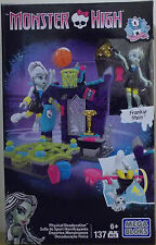 Mega Bloks Monster High ~ físico deaducation Playset Inc Frankie Stein 137 piezas