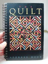 1975-1989 QUINTESSENTIAL ADDRESS BOOK 15 YRS of the INTERNATIONAL QUILT FESTIVAL