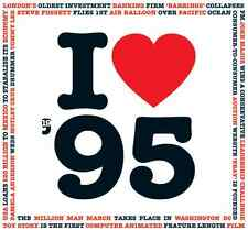 21st Birthday Gift - I Love 1995 Compilation Brit Pop CD Greetings Gifts Card