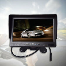 Portable 7in LCD Digital Color Screen Monitor for Car Rear View with Sunvisor PJ