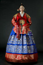 Hanbok Dress Traditional Korean Ceremony Costume DANGUI Korean Royal Costume