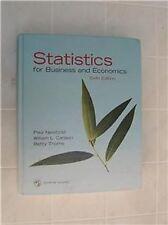 Statistics for Business and Economics 6th Newbold ISBN 013188090X  9780131880900
