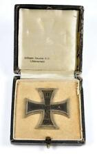 Original WWI Iron Cross 1st Class in Case