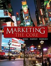 Marketing: The Core, by Kerin, Hartley, Rudelius