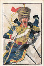 Hannover Deutsche Legion Hussar Deutsches Heer Germany Uniform IMAGE CARD 30s