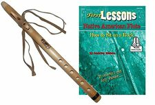 Beginners Native American Style Flute + Case + Guide Book & Online Audio