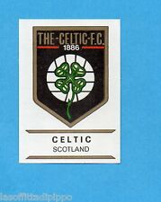 FOOTBALL CLUBS-PANINI 1975-Figurina n.255- CELTIC -SCOZIA-SCUDETTO-Rec