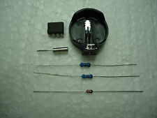 DS1307 Kit CLOCK Incluye  Clip CR2032, Xtal,Resistencias y diodo RTC DS 1307