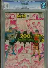 Batman #200   (Scarecrow app)    CGC 8.0   OWP
