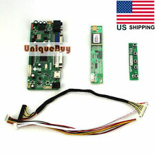 DIY LCD Controller Board Card Kit Driver Board HDMI+VGA+DV for LP154WX4-TLC8