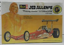 JEB ALLEN TOP FUEL DRAGSTER PRAYING MANTIS SLOT CAR NOS SEALED REVELL MODEL KIT