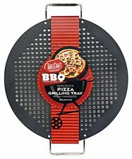 TableCraft BBQP18M BBQ Round Pizza Grilling Tray, New, Free Shipping
